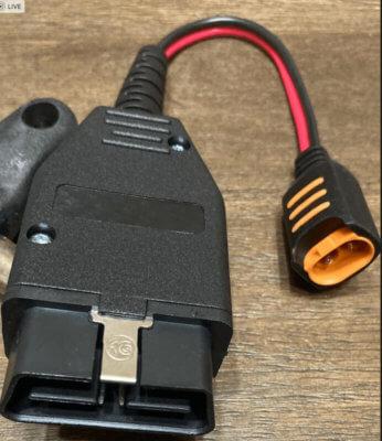 バッテリーチャージャーバックアップコネクター
