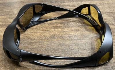CCP400オーバーグラスとDRIVEWEARオーバーグラス比較側面