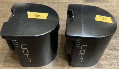 予備バッテリーPVB-2125Bが2個