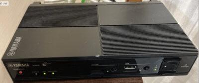 YAMAHA NVR510の全面パネル