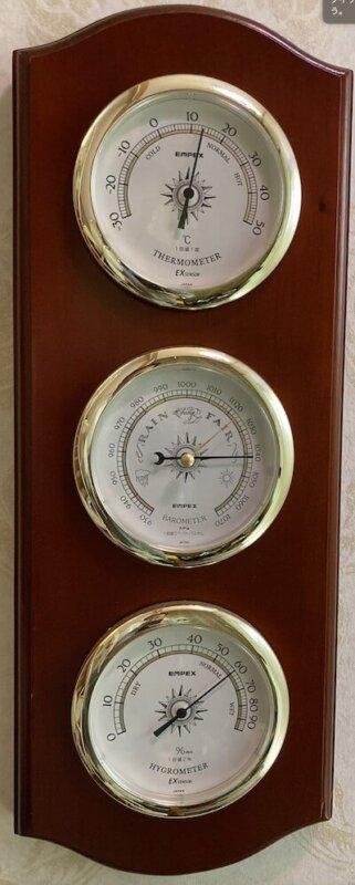 温度計+気圧計+湿度計