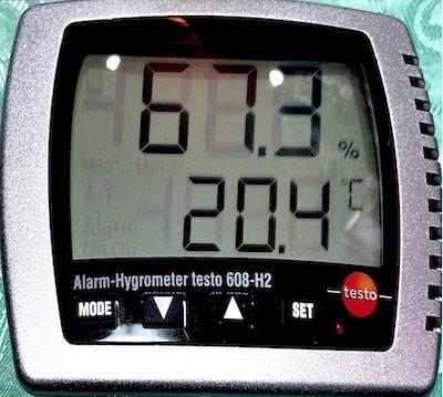 高精度湿度計